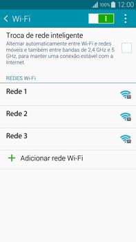Como configurar uma rede Wi-Fi - Samsung Galaxy Note - Passo 5