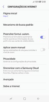Como configurar a internet do seu aparelho (APN) - Samsung Galaxy S8 - Passo 23
