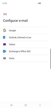 Como configurar seu celular para receber e enviar e-mails - Samsung Galaxy S10 - Passo 8