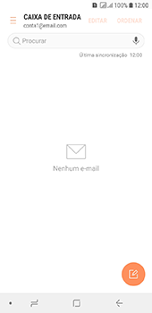 Como configurar seu celular para receber e enviar e-mails - Samsung Galaxy J6 - Passo 6