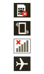 Explicação dos ícones - LG G2 Lite - Passo 1