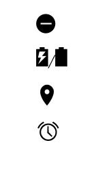 Explicação dos ícones - Motorola Moto C Plus - Passo 7