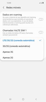 O celular não recebe chamadas - Samsung Galaxy A21s - Passo 8