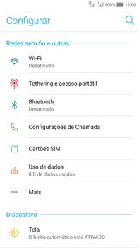 Como ativar e desativar uma rede de dados - Asus Zenfone Selfie - Passo 3