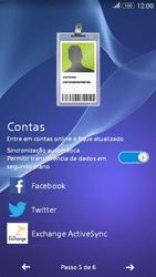 Como configurar pela primeira vez - Sony Xperia E4G - Passo 10