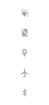 Explicação dos ícones - Motorola Moto G8 Power - Passo 4