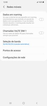 O celular não recebe chamadas - Samsung Galaxy S21 5G - Passo 7