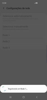 Como selecionar o tipo de rede adequada - Samsung Galaxy S10 - Passo 9