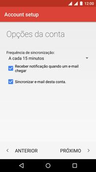Como configurar seu celular para receber e enviar e-mails - Motorola Moto X Play - Passo 24