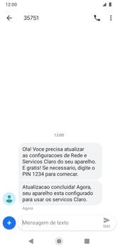 Como conectar à internet - Motorola Moto G7 Power - Passo 20
