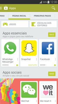 Como baixar aplicativos - Samsung Galaxy Note - Passo 5