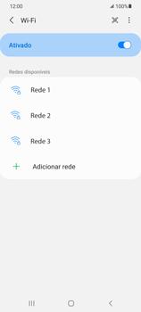 Como configurar uma rede Wi-Fi - Samsung Galaxy S21 Ultra 5G - Passo 6