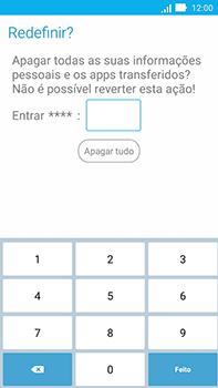 Como restaurar as configurações originais do seu aparelho - Asus ZenFone Go - Passo 7