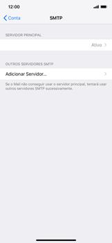 Como configurar seu celular para receber e enviar e-mails - Apple iPhone XR - Passo 19