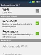 Como configurar uma rede Wi-Fi - Motorola Master - Passo 5
