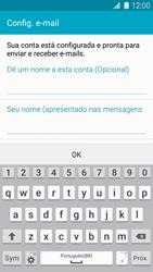 Como configurar seu celular para receber e enviar e-mails - Samsung Galaxy S IV - Passo 8