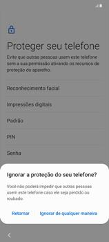 Como configurar pela primeira vez - Samsung Galaxy Note 20 5G - Passo 13