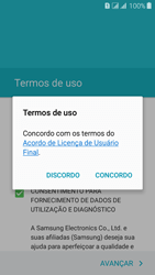 Como configurar pela primeira vez - Samsung Galaxy J3 Duos - Passo 8