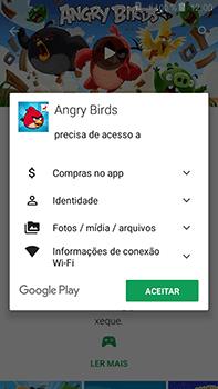 Como baixar aplicativos - Samsung Galaxy J7 - Passo 18