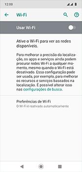 Como configurar uma rede Wi-Fi - Motorola Moto G7 - Passo 5