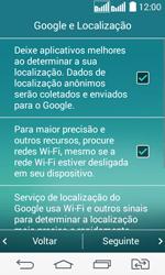 Como ativar seu aparelho - LG G2 Lite - Passo 8