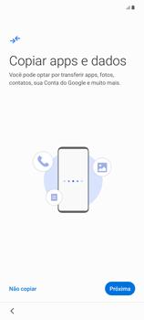 Como configurar pela primeira vez - Samsung Galaxy Note 20 5G - Passo 7