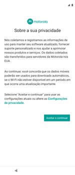 Como ativar seu aparelho - Motorola Moto G 5G Plus - Passo 10