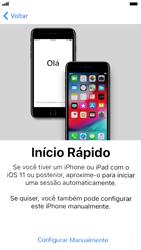 Como configurar pela primeira vez - Apple iPhone 7 - Passo 7