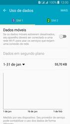Como ativar e desativar uma rede de dados - Samsung Galaxy J3 Duos - Passo 6