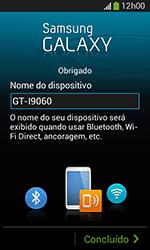 Como configurar pela primeira vez - Samsung Galaxy Grand Neo - Passo 15