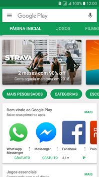 Como baixar aplicativos - Samsung Galaxy On 7 - Passo 4