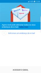 Como configurar seu celular para receber e enviar e-mails - Samsung Galaxy S7 Edge - Passo 7