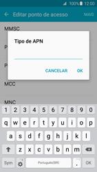 Como configurar a internet do seu aparelho (APN) - Samsung Galaxy S6 - Passo 12