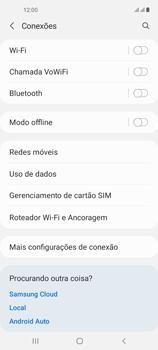 Como definir um aviso e limite de uso de dados - Samsung Galaxy A21s - Passo 4