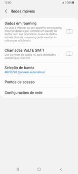 O celular não recebe chamadas - Samsung Galaxy A32 5G - Passo 7