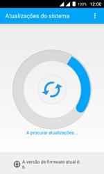 Como atualizar o software do seu aparelho - Alcatel Pixi 4 - Passo 7