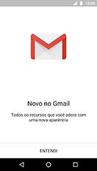 Como configurar seu celular para receber e enviar e-mails - Motorola Moto X4 - Passo 4