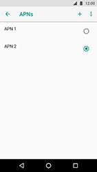 Como configurar a internet do seu aparelho (APN) - Motorola Moto X4 - Passo 17
