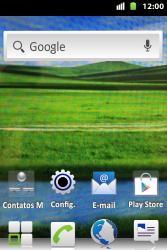 Como restaurar as configurações originais do seu aparelho - Huawei U8667 - Passo 1