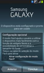 Como configurar pela primeira vez - Samsung Galaxy Win - Passo 12