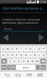 Como ativar seu aparelho - LG G2 Lite - Passo 9