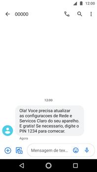 Como conectar à internet - Motorola Moto G5s Plus - Passo 17