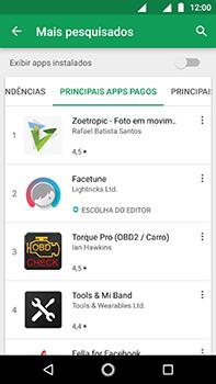 Como baixar aplicativos - Motorola Moto Z2 Play - Passo 9