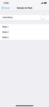 Como selecionar o tipo de rede adequada - Apple iPhone XR - Passo 5
