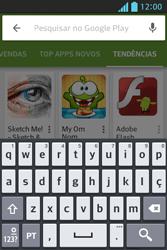 Como baixar aplicativos - LG Optimus L5 - Passo 14