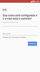 Como configurar seu celular para receber e enviar e-mails - Motorola Moto C Plus - Passo 12