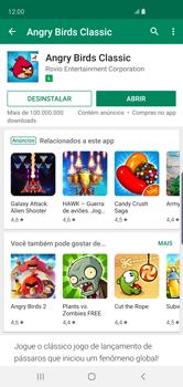 Como baixar aplicativos - Samsung Galaxy S10 - Passo 16
