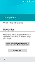 Como configurar pela primeira vez - Motorola Moto G (2ª Geração) - Passo 9