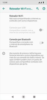 Como usar seu aparelho como um roteador de rede Wi-Fi - Motorola Moto G7 - Passo 5