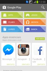 Como baixar aplicativos - Samsung Galaxy Young - Passo 4